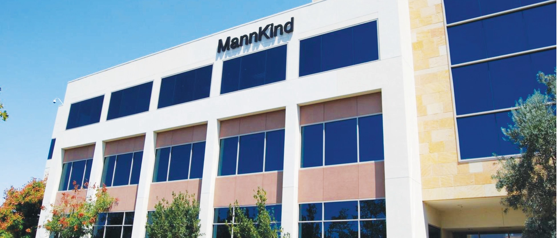 NEW HOME—MannKind Corporation, maker of the insulin inhalation powder Afrezza, moved into this new headquarters building in Westlake.