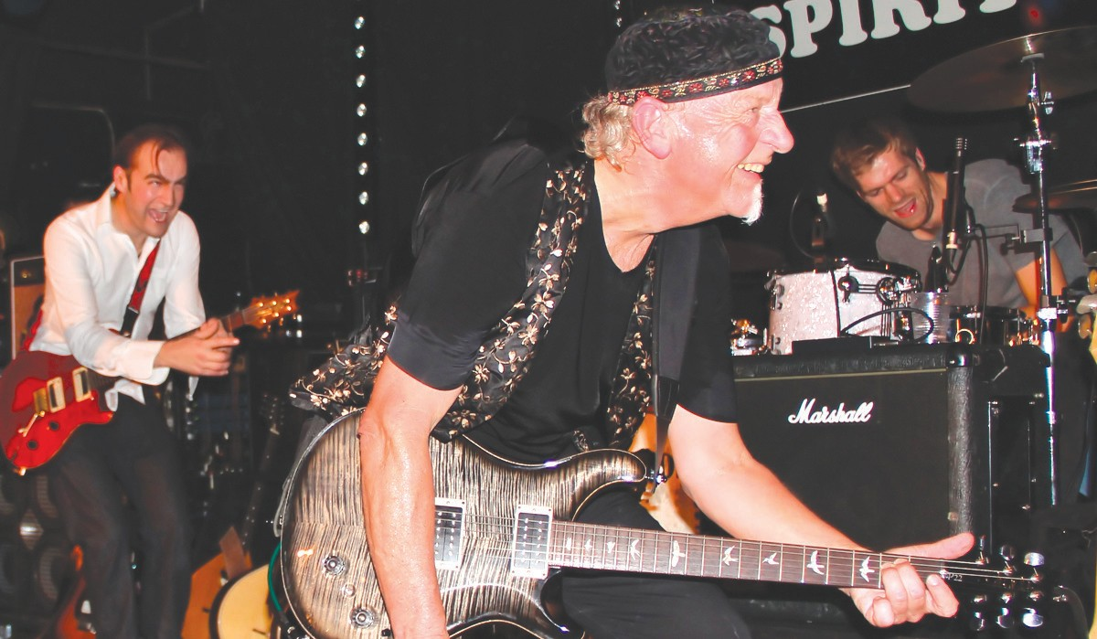 """HEY AQUALUNG—In other news from the old boys'network, The Martin Barre Band will rock the stage at Bogie's in Westlake Village on Tues., Sept. 19. Barre has been the guitarist for Jethro Tull for 43 years. He's touring the U.S. with his own band in support of his new album, """"Back to Steel."""" Courtesy of Martin Webb"""