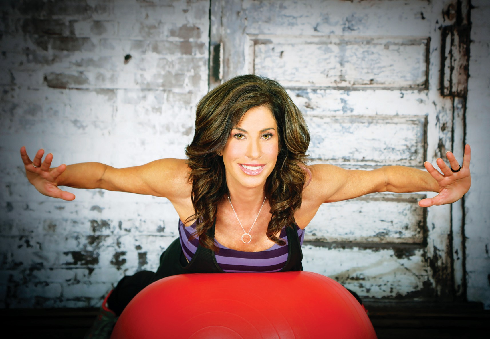 GET FIT—Cindy Rakowitz will mentor scholarship recipients seeking to become certifiedfitness instructors.