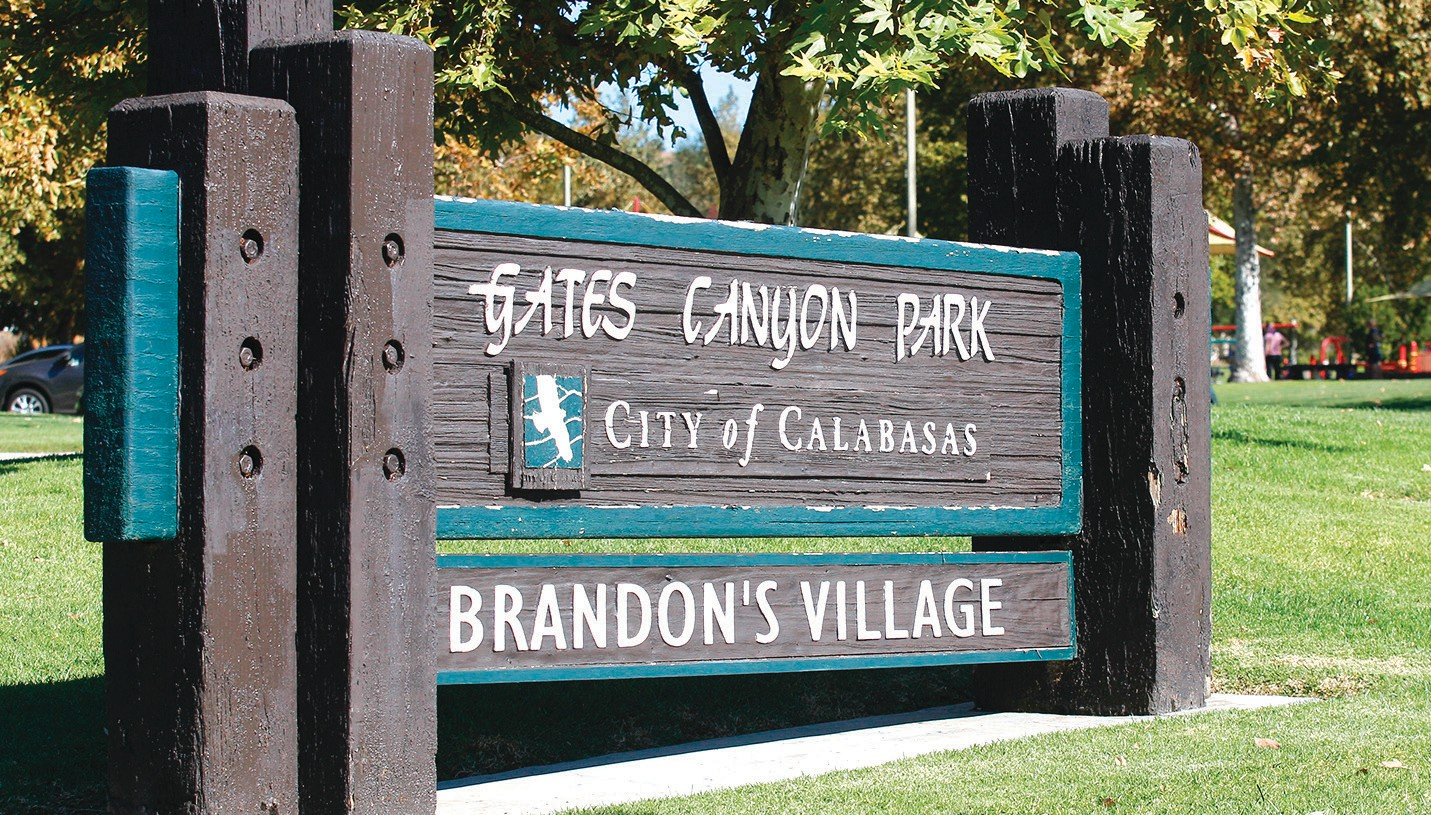 BUILD HERE—A cistern will go below ground at Gates Canyon Park. RICHARD GILLARD/Acorn Newspapers