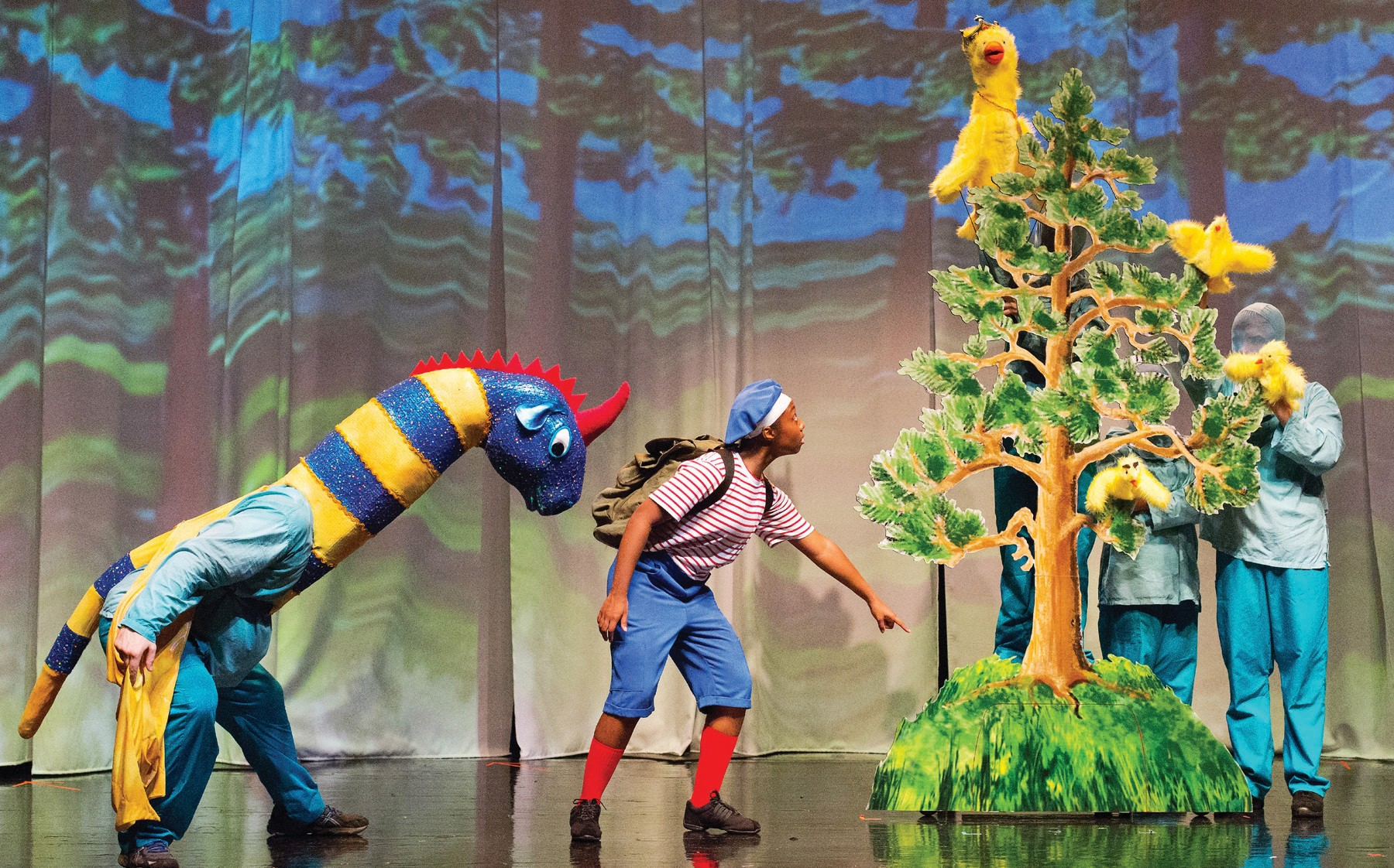 """STORYBOOK SAGA—Enchantment Theatre will present""""My Father's Dragon"""" on Sat., Jan. 20 at the Thousand Oaks Civic Arts Plaza. The play is based on Ruth Stiles Gannett's award-winning 1948 children's book. Courtesy photo"""