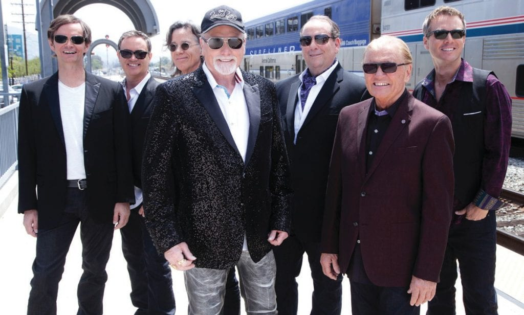 FUN FUN FUN—The Beach Boys, with original lead singer MIke Love, will fill the Kavli Theatre with their sunny hits March 3 in Thousand Oaks. Courtesy photo