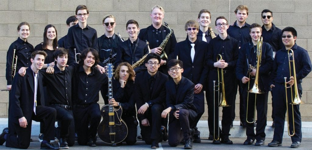 PLAY ON—The Agoura High School Studio Jazz Band will play in the Essentially Ellington event May 10. Courtesy of Phil Man