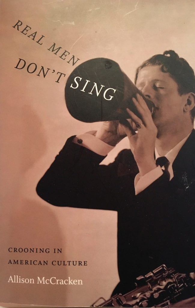 HEARTFELT MUSIC—Allison McCracken, author of the award-winning book shown here, will talk about 1920s star crooners at an upcoming free program at the Grant Brimhall Library in Thousand Oaks. Courtesy photo