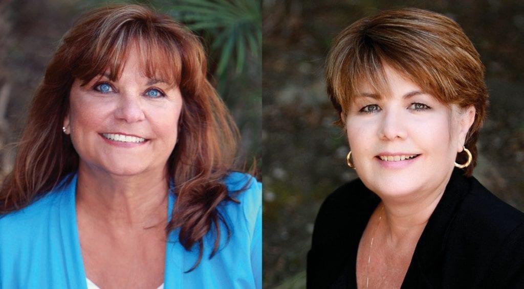 Linda Colvin and Nanci Insul