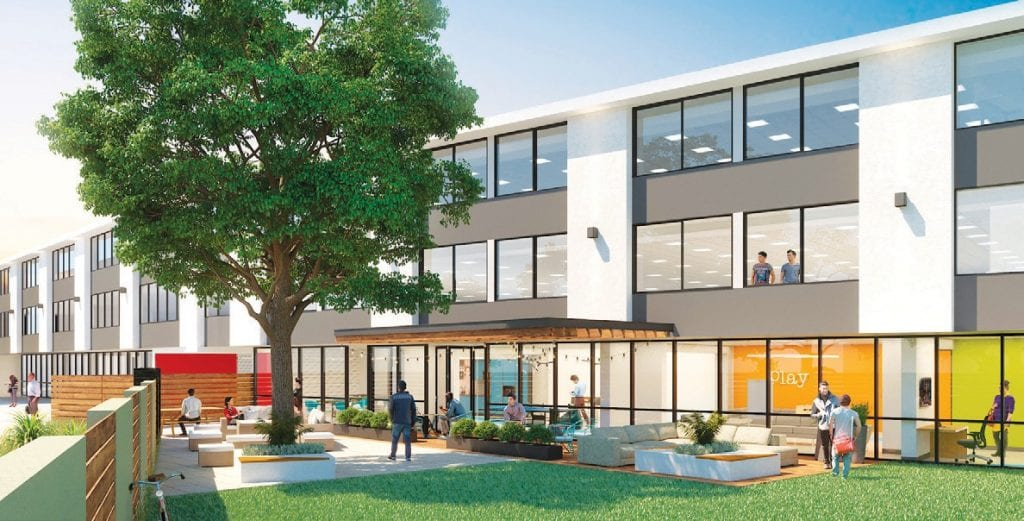 STUDENT HOUSING—An artist's rendering of the new OCHS dorms. Courtesy photo