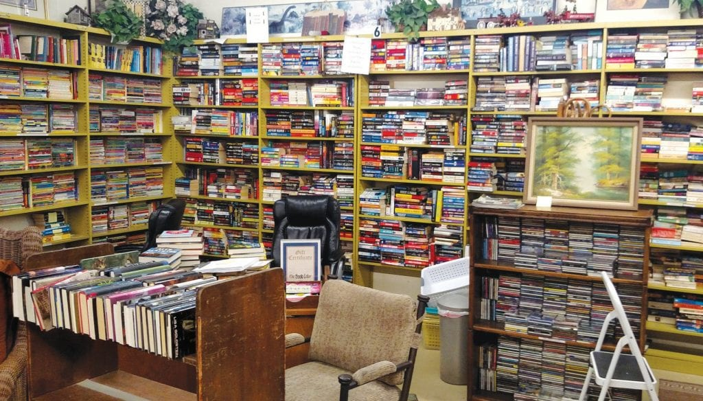 HIDDEN GEM—The Book Cellar in the basement of the Agoura Hills Library offers a ton of used selections. IAN BRADLEY/Acorn Newspapers