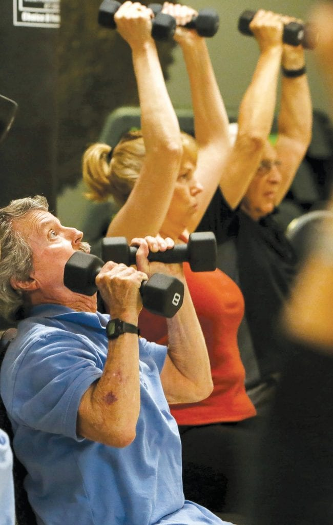 IRON-FISTED—The classes help meet the needs of the aging body.