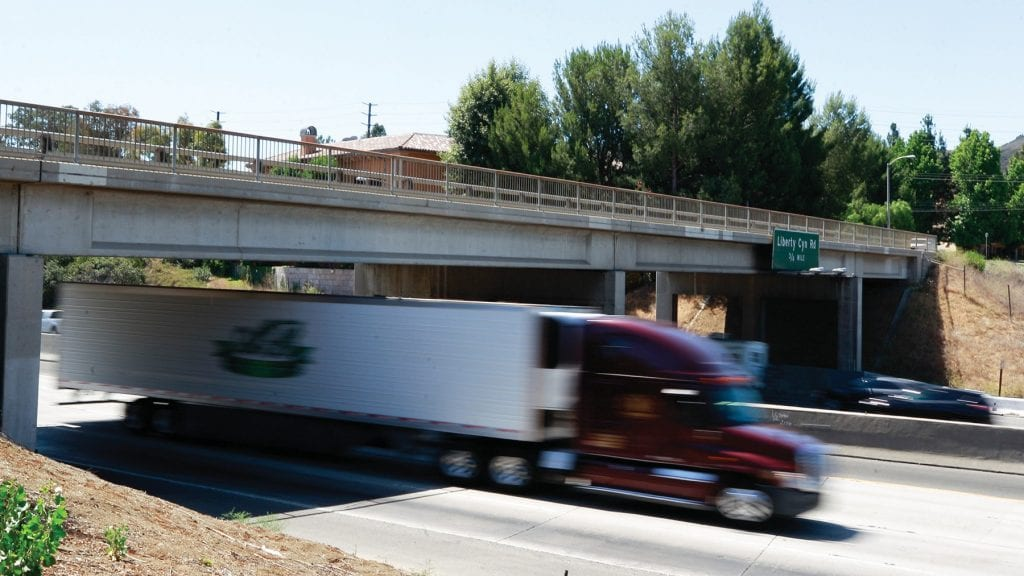 OVER-UNDER—The Palo Comado overpass in Agoura Hills will receive a $13-million makeover.