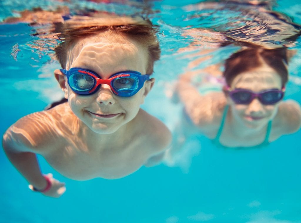 WATER WISE—A team of inspectors makes sure the public pools are suitable for swimmers, including testing for algae and looking for poorly maintained fencing, gates and pool equipment.