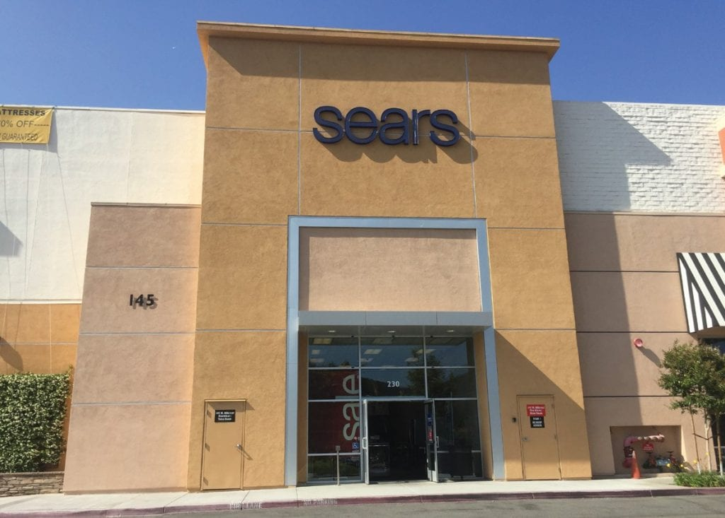 END OF AN ERA—Sears Holding announced late last week that it would shutter its Thousand Oaks store in September. The retailer opened in 1970, and for department store shoppers it was the only game in town. RICHARD GILLARD/Acorn Newspapers