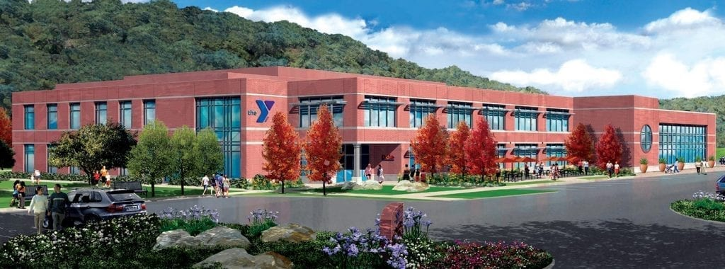 NO LONGER ANONYMOUS—The public will learn the name of the recently built YMCA in Westlake during a ceremony next month at the facility on Thousand Oaks Boulevard west of Lindero Canyon Road. Courtesy of YMCA
