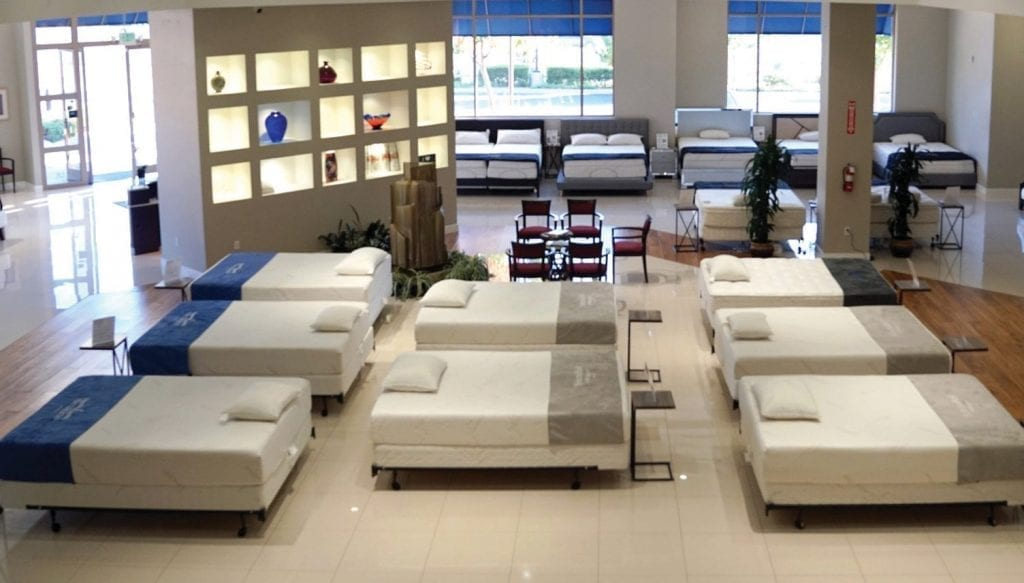 PEACEFUL, EASY FEELING—The Canwood Street showroom gives shoppers a true touch-and-feel experience. Courtesy photo