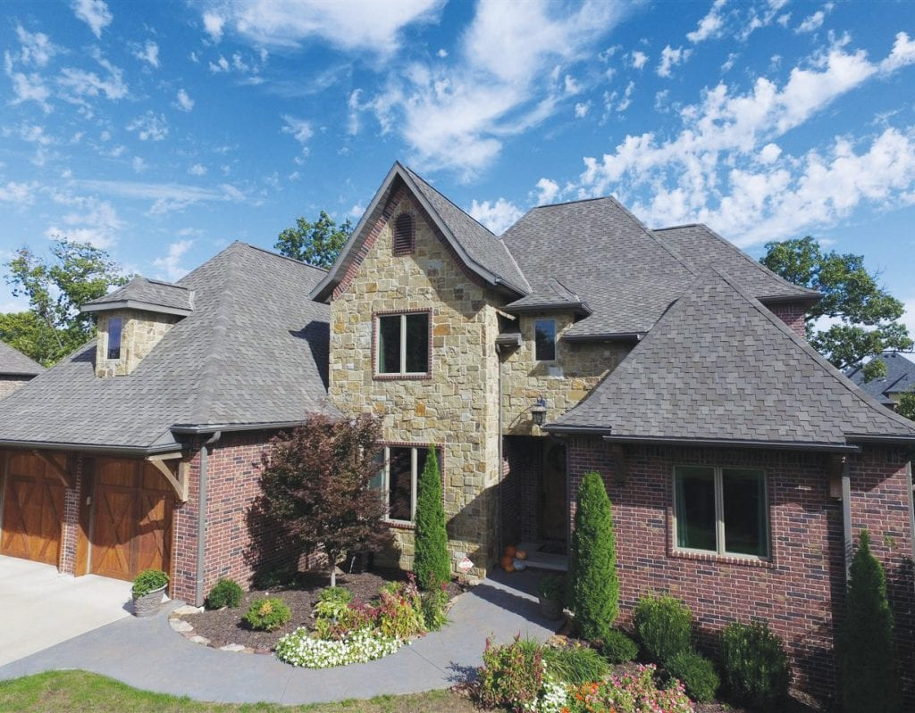 NEXT PROJECT—TAMKO Heritage Woodgate shingles can be used for roof repairs and home remodeling.
