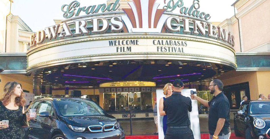 ACTION—The Calabasas Edwards Cinema is a bustle of activity during last year's festivities. Courtesy of Calabasas Film Festival