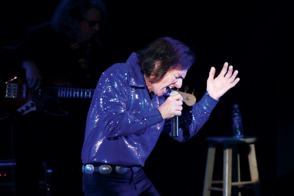 LIKE THE REAL THING—Dean Colley channels Neil Diamond as he performs with his band, Hot August Night, Sept. 6 at the High Street Arts Center in Moorpark. Courtesy photo