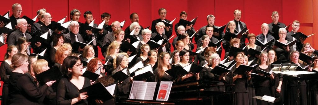 SONGS OF THE SEASON—Los Robles Master Chorale kicks of the holidays with an evening of favorite and traditional music Sun., Dec. 8 in the Carpenter Family Theatre on the campus of Westlake High School. Courtesy photo