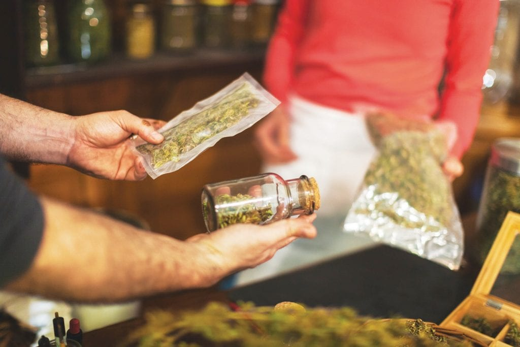 BUY, SELL—Medicinal and recreational businesses that fail to meet government guidelines are being weeded out.