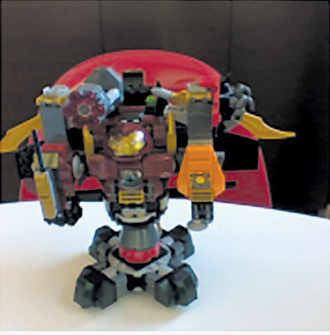 HULK-BUSTER—This has a hulkbuster torso, gatling gun, spinning base,fully weaponized/ customized escape plane and guns on its wrists. Created by Dylan Um