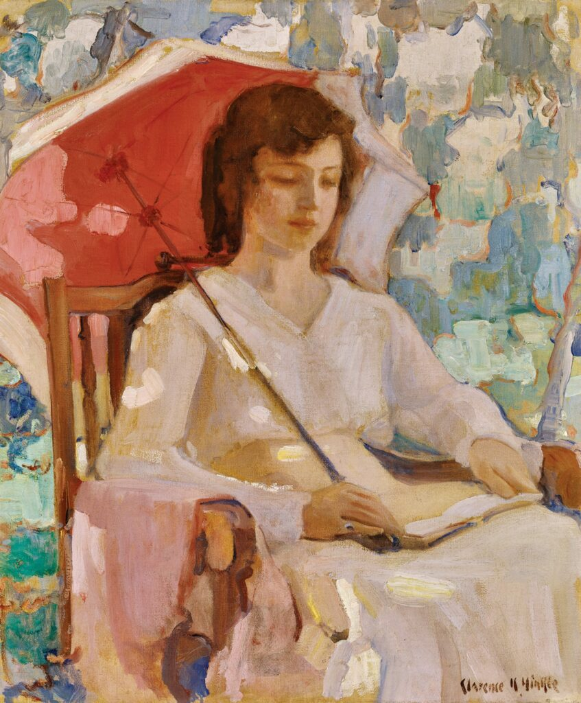 """SERENE—The painting """"Quiet Pose"""" by Clarence Hinkle is among the works on display in an exhibit at the California Museum of Art Thousand Oaks. The art is from a collection belonging to Gardena High School. Courtesy of CMATO"""